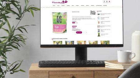 Tienda online para mascotas. Publicidad en Asturias.