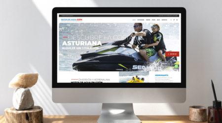 Diseño web para empresas de turismo. Publicidad en Oviedo.